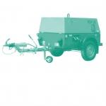 Винтовые передвижные дизельные компрессоры